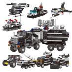 ブロック互換 レゴ 互換品 レゴSWAT車 戦闘機 船 ヘリコプター ミサイル車など8in1 25種組立 レゴブロック LEGO クリスマス プレゼント
