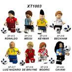 ブロック互換 レゴ 互換品 レゴミニフィグ サッカー選手8体 ボール付き  レゴブロック LEGO クリスマス プレゼント