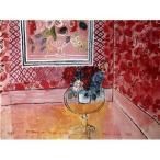 【直送】世界の名画シリーズ、プリハード複製画 ラウル・デュフィ作 「30歳、またはばら色の人生」〔代引不可〕