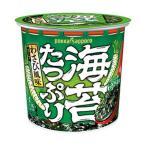 【直送】ポッカサッポロ 海苔たっぷりすうぷ わさびカップ 1セット(12.7g×24個)