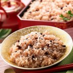 【直送】赤飯おこわ 無洗米もち米付き〔393g×10袋〕