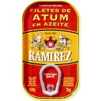 Ramirez(ラミレス) プレミアムツナ オリーブオイル漬け ブロック 120g -送料無料