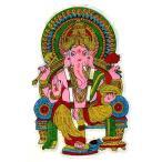 インドの神様ガネーシャの巨大なキラキラステッカー!その6