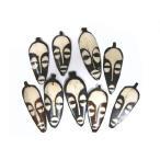 牛の骨でできた顔ペンダントヘッド/アジアンアクセサリー/ヒッピー/エスニック/アジアン雑貨