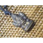 ヒンズーお守りガネーシャの立体ネックレスその1/エスニック/アジアン雑貨/神様/インド/ガネッシュ/象さん