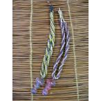 ネパールのヘンプネックレス!ガラスのキノコAタイプ/アジアンアクセサリー/エスニック/アジアン雑貨