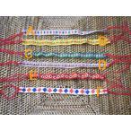 ベトナムモン族の古布で作ったミサンガ/エスニック/アジアン雑貨/輸入雑貨/