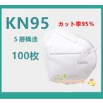 マスク N95 KN95 5層構造 100枚 冬用マスク 大人用 3D 不識布マスク 使い捨て PM2.5対応 花粉対策 有害ウィルスカット率95%以上 n95 mask ハロウィン