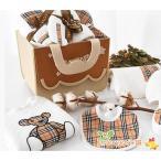 出産祝い オーガニックコットン ギフトセット おもちゃ ライオン カバ  ぬいぐるみ スタイ プレゼント 出産祝 御祝い ベビーに安心 男の子