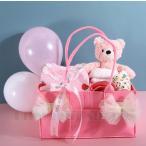出産祝い オーガニックコットン ギフトセット おもちゃ イチゴ 花柄 カバ  ぬいぐるみ スタイ プレゼント 出産祝 御祝い ベビーに安心 男の子 女の子