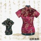 女性 チャイナトップス チャイナ服 中華風 ブラウス 半袖 レディース 刺繍 女性用 ドラゴン 唐装 竜 柄 龍 鳳凰 中国 ショート丈 制服 上着