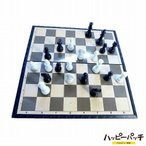 チェス チェスセット マグネット式 チェス盤 駒 ボードゲーム インテリア 豪華 白 黒 折り畳み盤 おしゃれ 20cm HB-322 qq宅配便のみpp
