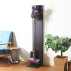 掃除機スタンド おしゃれ コードレスクリーナー ダイソン マキタ 収納 幅27×奥行30×高さ131cm ブラウン