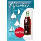 Coca Cola Sailing Boats   メタルサインプレート   (na 3020)