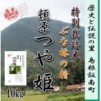 新米令和2年産 10kg / 島根県産つや姫 1等米 飯南町頓原地区限定 特別栽培米 大万木山ブナ林の精