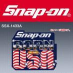 Snap-on スナップオンツールズ ビンテージステッカー USA #SSX-1433A [ゆうパケット送料無料]