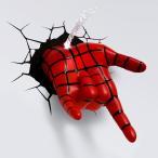 【送料無料】マーベルキャラクター 3Dデコライト スパイダーマン ハンド