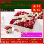 12月9日までの期間限定受注/2016クリスマスケーキ/送料無料/銀座千疋屋 ストロベリーアイスケーキ PGS-192/沖縄・離島への配送はできません