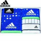ギフト adidas アストラルギフト スポーツタオル、フェイスタオル、タオルチーフ ブルー SE0-89-11 贈答品 内祝