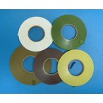 【アートフラワー材料】紙テープ9mmオリーブグリーン