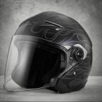 ショッピングハーレーダビッドソン ハーレーダビッドソン 純正 メンズスプレンダーサンシールド3/4ヘルメット