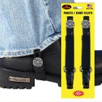 44 Magnum Motorcycle Riding Pant Clips