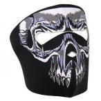 Evil Skull Neoprene フェイスマスク(スカル)
