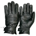 Ribbed Leather Glove