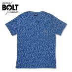 ライトニングボルト Tシャツ 総柄 ポケット Lightning BOLT ポルトガル製 ブルー