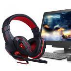 ゲーム 周辺機器  iixpin USB Wired Surround Stereo Noise Reduction Gaming Headset Headphone with Mic