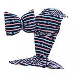 ショッピングSelection インテリア ベッド キッズ Flannel Mermaid Tail Blanket with Bowknot Pillow 16 Patterns for Your Selection as Great Gift for Kids Ladies in The Winter