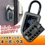 キーボックス 南京錠 キーケース プッシュ式 U字ロック 鍵収納 暗証番号 防犯キーボックス 鍵保管 セキュリティ 宅配ボックス 鍵の受け渡しに