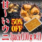 業務用チリ産 ウニ 300g(100g×3)冷凍 ムラサキウニ うに丼 海鮮丼 鮮魚 冷凍食品