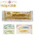 介護食 スティックゼリー カロリータイプ オレンジ風味 14.5g×20本 林兼産業 日本製