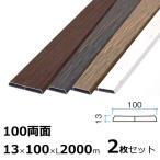 板材 アルミラウンド板 木目調 100両面 2枚セット