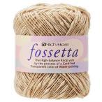 ショッピング毛糸 RICHMORE リッチモア フォセッタ fossetta バラ1玉のお値段です6玉までは定形外発送 毛糸 手芸 手作り 洋裁