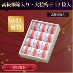 ショッピング梅 【送料無料】 ギフト、贈答用 最高級個別包装の梅干し 塩分約7%