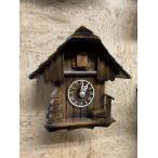 ドイツ森の時計 クォーツ式山小屋鳩時計 小さな山小屋シリーズ420-1QM