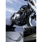 M-TEC バイク マフラー ショート管 メッキ GSX750S刀 MRS-MUS75-02C 【取寄品】