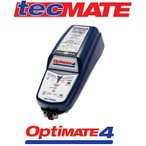 在庫あり/tecMATE OptiMate4 DUAL PROGRAM(テックメート オプティメート4 デュアルプログラム)バッテリー充電器