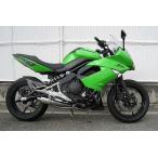【バイク】【マフラー】【WRS】Ninja400/ER-4n リアエキゾースト【MCA認定】【SM4410JM】 【取寄品】
