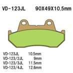 ◆◆ベスラ バイク ブレーキパット FT500C PC07 82-84年式 リア VD-123JL 【取寄品/ネット通販限定価格】
