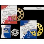 XAM フロント スプロケット ホンダ VFR750R RC30520CONVERT 87年式 フロント C4131R 【取寄品】