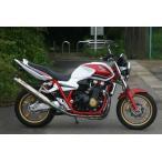 ノジマ マフラー バイク CB1300SF/SB/ABS 08-11 EBL-SC54 FASARM PROチタン手曲 チタン製Vサイレンサー NMTX027VZ-CLK