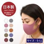 【送料込】洗えて繰り返し使えるマスク 日本製 保温効果 立体裁断 個包装 あったか