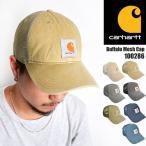 キャップ carhartt カーハート メッシュキャップ buffalo バッファロー ウォッシュ キャンバス レディース メンズ 帽子 100286