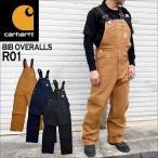 オーバーオール carhartt カーハート メンズ レディース つなぎ サロペット オールインワン 作業着 黒 ダック ブラウン R01