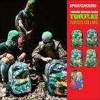 リュック SPRAY GROUND スプレーグラウンド turtles タートルズ レオナルド ラファエロ ミケランジェロ 流行 通勤