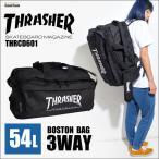 ボストンバッグ 修学旅行 3way 大容量 THRASHER スラッシャー メンズ レディース リュック リュックサック ショルダーバッグ 54L