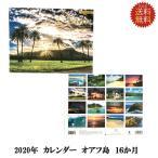 ショッピングカレンダー メール便利用送料込2018年ハワイアンカレンダー オアフ島ハワイアンカレンダー